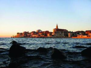 Umag from the sea