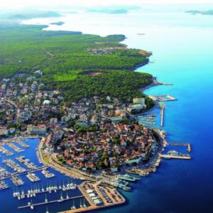 Biograd panoramic view