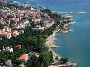 Crikvenica panoramic view