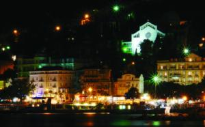 Opatija at night